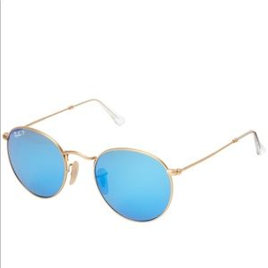 Ray-Ban RB3447 Round Metal Polarized 50mm